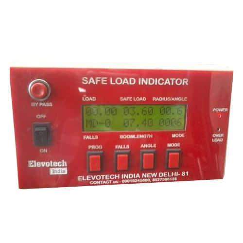 Safe Load Indicator Systems : Elevotech india manufacturer of digital indicator safe
