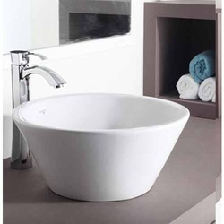 Crystal Over Counter Basin
