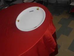 Acrylic Printing Round Kareena Plate