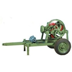 mobile high speed chaff cutter machine