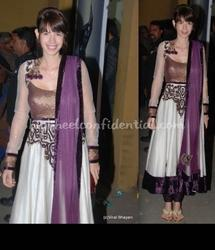 Bollywood Purple Suit New Design