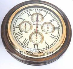 Antique World Wall Clock