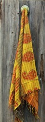 Handcrafted Jaipur Silk Stole