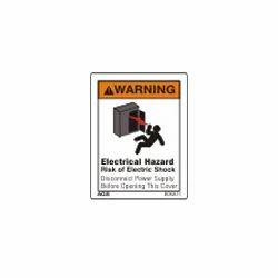 Shock Hazard Warning Sign