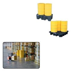 Spill Containment Pallet for Material Handling Industry