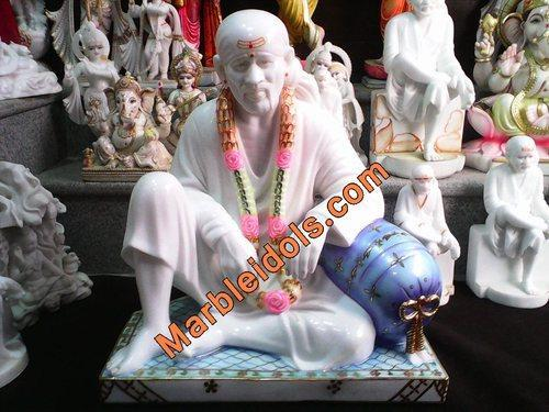 Lord Sai Marble Statue