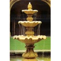 Camel Yellow Marble Fountain