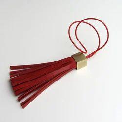Leather Tassel for Handbags