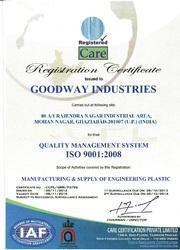 Goodway Industries ISO Certificate
