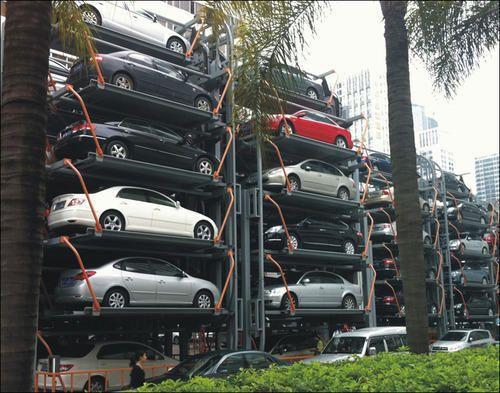 Multilevel Car Parking System Two Post Car Parking System