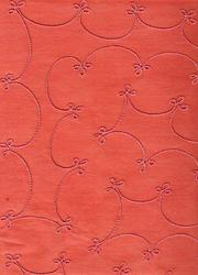 Embroidered Handmade Paper For Scrapbooking