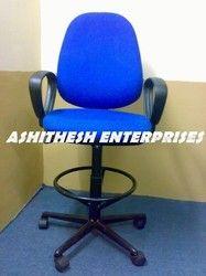 Blue Revolving Chair