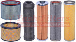 Pleated Air Filter Cartridges