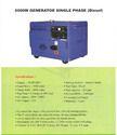 Single Phase Diesel Generator (6000w)