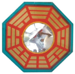 Bagua Mirror In Wooden