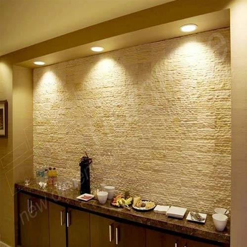 innovative design continues to push boundaries in interior decor years to other materials like granite and laminate but its making a strong comeback - Interior Wall Design Materials