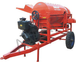Paddy Rice Thresher - Engine Model