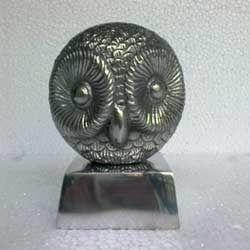 Aluminum Owl Sculpture