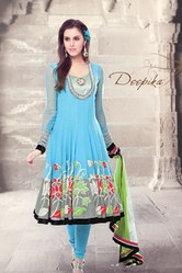 Beautiful Design Blue Color Suit