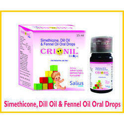 Simethicone, Dill Oil & Fennel Oil Oral Drops