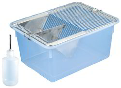 Animal Cage Polyproplylene with S.S.Grill & Water Bottle