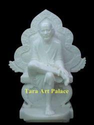 Baba Sai Marble Statue