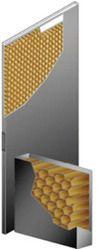 honey comb doors