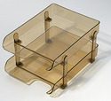 Letra Tray With Risers