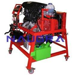 petrol engine rig vag fsi direct injection with can bus eng