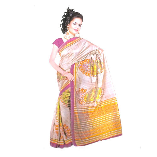 Silk Sarees in Delhi Trendy Bhagalpuri Silk Saree