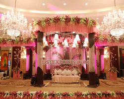 New Indian Wedding Crystal Mandap