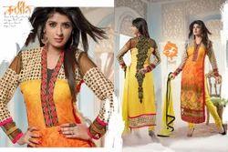 Straight Designer Ladies Suits
