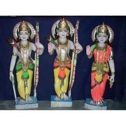 Ram Darbar Colored Statues