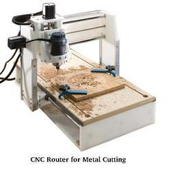 CNC Router for Metal Cutting