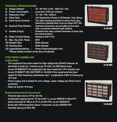 ALAN Make MP Series Alarm Annunciators