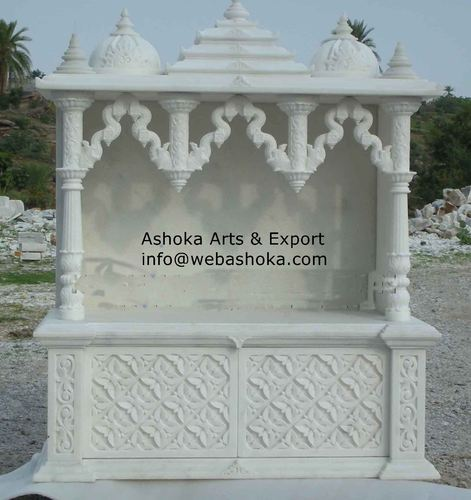 Carved Marble Temple   Traditional Carved Marble Temple Manufacturer From  Udaipur