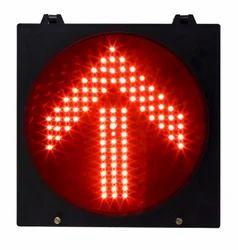 Red Arrow LED Traffic Signal
