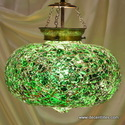glass hanging lamp amp colored hanging lamp
