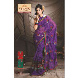 Embroided Bollywood  Sarees