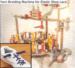 Yarn Braiding Machine for Elastic Shoe Lace