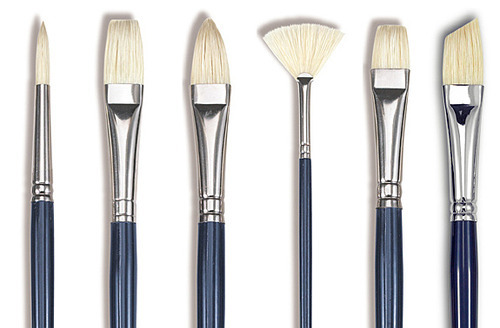 Bristle Brushes for Oil Paintings