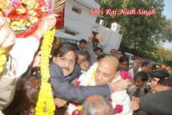 Bhartiya Janta Party President Mr. Rajnath Singh