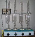 Soxhlet Extraction Unit- with Glass Parts