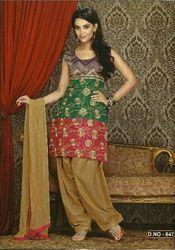 Multicolored Salwar Kameez