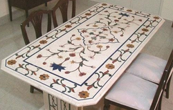 marble table tops with inlay approx rs 141 lakh pieces