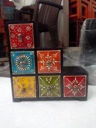 Wooden Ceramic Drawers