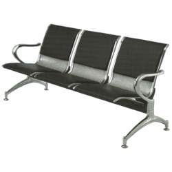 Stainless Steel Airport Bench