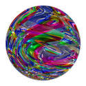 Multicolor Glass Ball