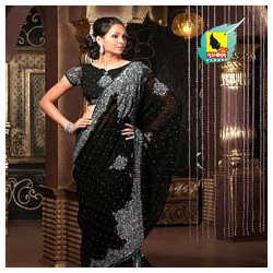 Black Party Sarees