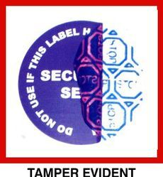 Tamper Evident Sticker